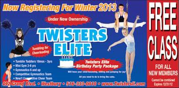 Twisters Elite Gymnastics
